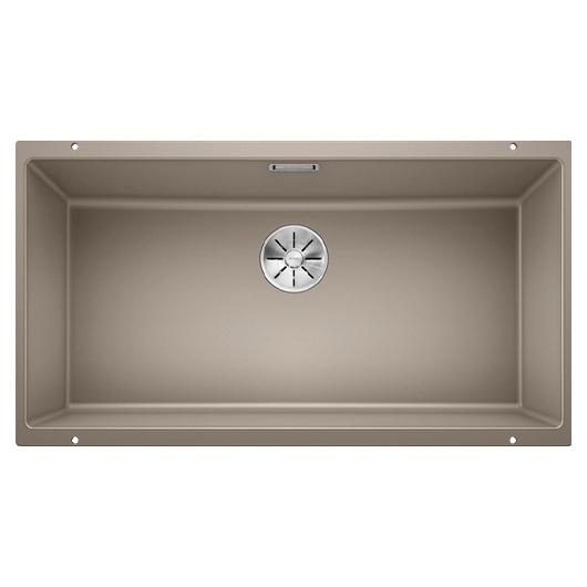 Мойка кухонная Blanco Subline 800-U 523148 (серый беж, 830х460 мм)