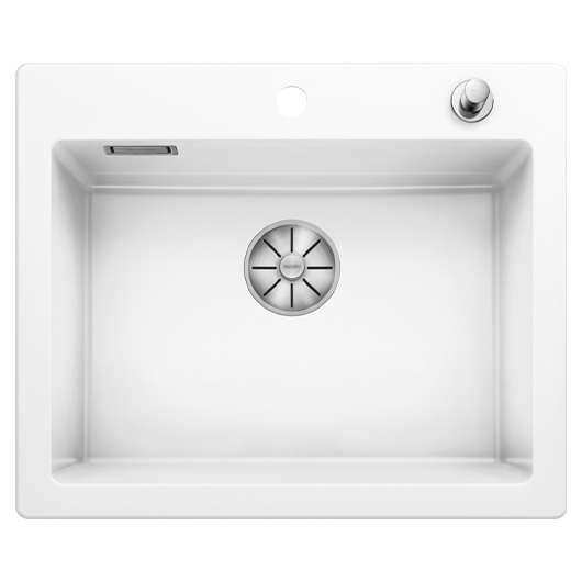 Кухонная мойка Blanco Palona 6 524731 (Ceramic PuraPlus глянцевый белый, 615х510 мм)