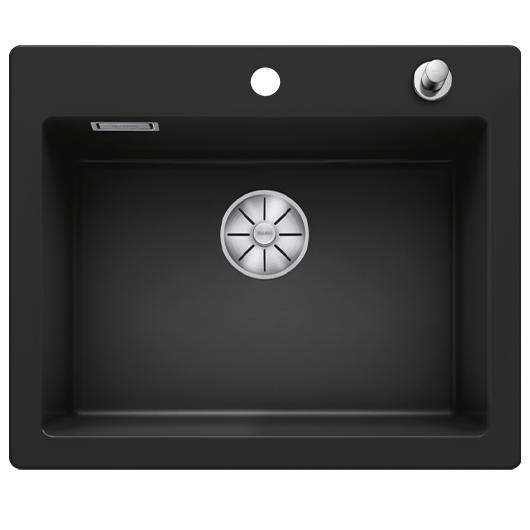 Кухонная мойка Blanco Palona 6 524738 (Ceramic PuraPlus черный, 615х510 мм)