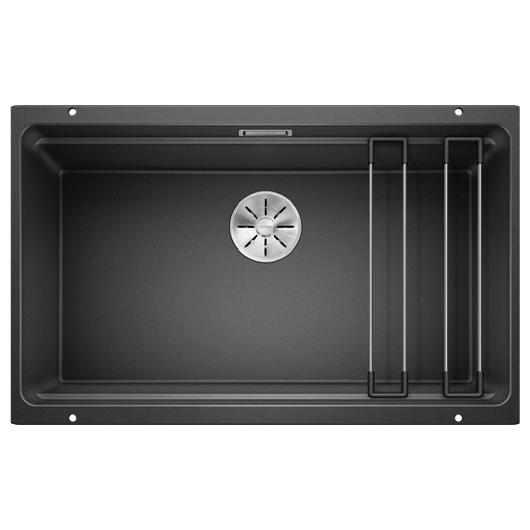 Мойка кухонная Blanco Etagon 700-U 525167 (антрацит, 730х460 мм)