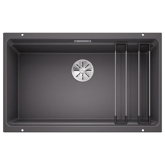 Мойка кухонная Blanco Etagon 700-U 525168 (темная скала, 730х460 мм)