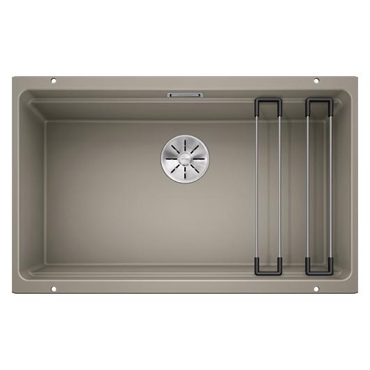 Мойка кухонная Blanco Etagon 700-U 525174 (серый беж, 730х460 мм)