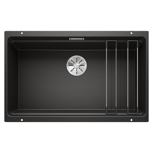 Мойка кухонная Blanco Etagon 700-U 525891 (черный, 730х460 мм)