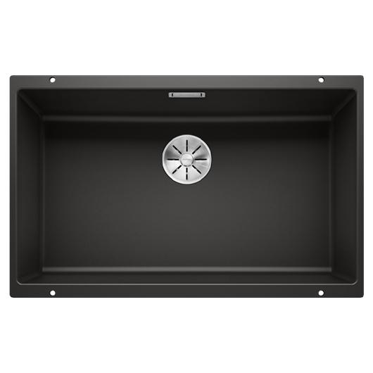 Мойка кухонная Blanco Subline 700-U 526001 (черный, 730х460 мм)