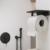Гигиенический комплект Timo Arisa 5309/03SM (черный матовый)