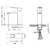 Смеситель для раковины Timo Briana 7161/03F (черный матовый)