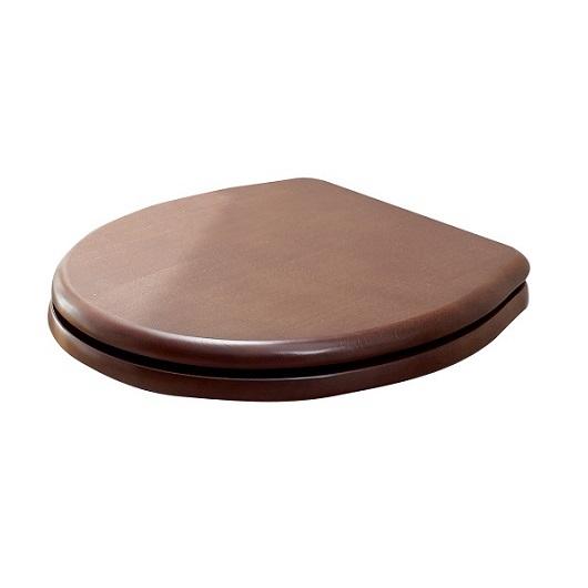 Сиденье с крышкой для унитаза Scarabeo Castellana 5310/B/BR SoftClose (орех/бронза)
