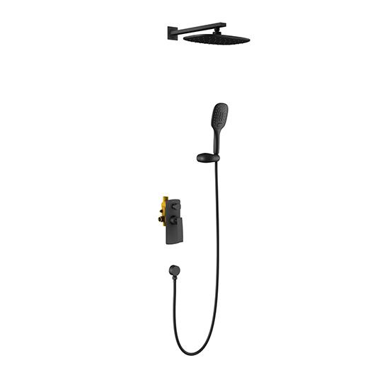 Душевая система Timo Helmi SX-4069/03SM (черный матовый)
