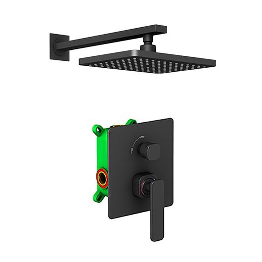 Душевая система Timo Torne SX-4399/03SM (черный матовый)