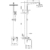 Душевая система Timo Torne SX-4320/02 (antique)