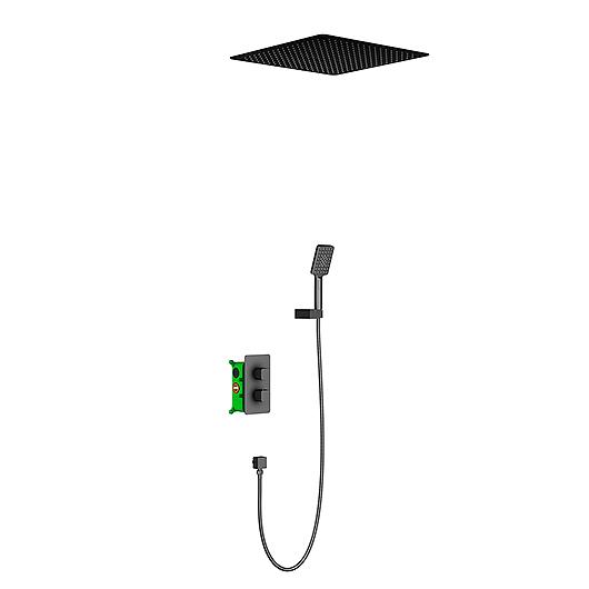 Душевая система Timo Petruma SX-5029/03SM (черный матовый)