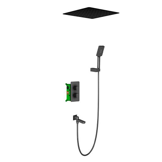 Душевая система Timo Petruma SX-5019/03SM (черный матовый)