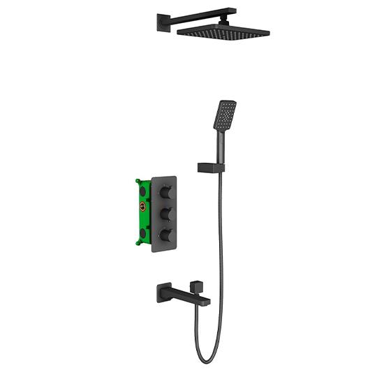 Душевая система Timo Petruma SX-5149/03SM (черный матовый)