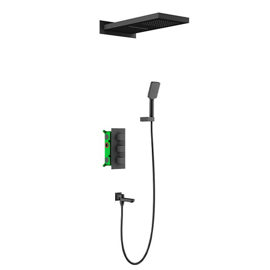 Душевая система Timo Petruma SX-5079/03SM (черный матовый)