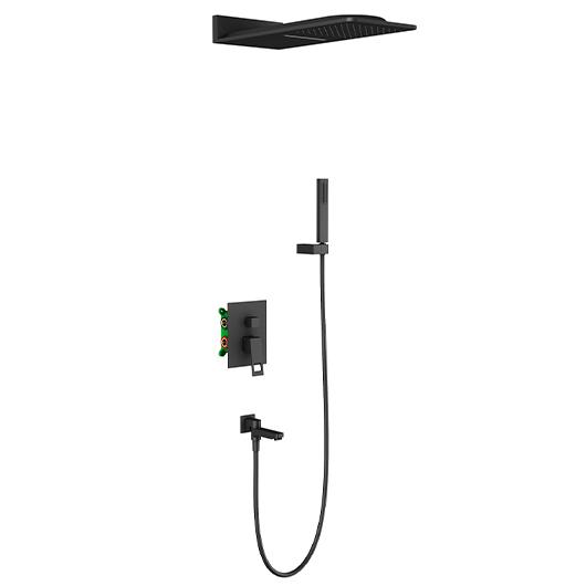 Душевая система Timo Briana SX-7119/03SM (черный матовый)