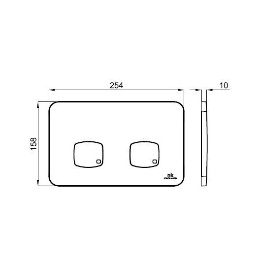 Комплект унитаз с инсталляцией Noken Essence-C Compact Rimless 100253733/N399999662 (4 в 1)