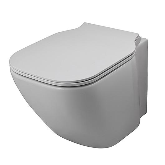 Чаша подвесного унитаза Noken Essence-C Compact Rimless 100229785/N365850117 безободковая