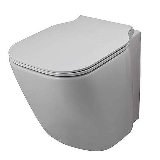 Чаша приставного унитаза Noken Essence-C Compact Rimless 100229857/N365850118 безободковая