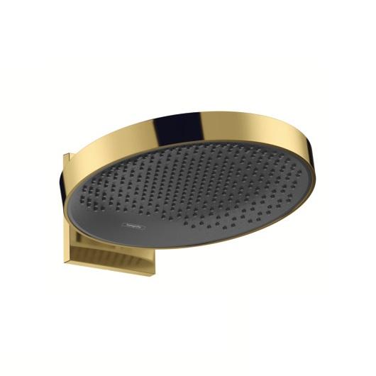 Верхний душ Hansgrohe Rainfinity 360 1jet 26230990 (360 мм, полированное золото)