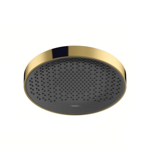 Верхний душ Hansgrohe Rainfinity 360 1jet 26231990 (360 мм, полированное золото)