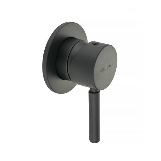 Смеситель для душа Migliore Fortis Black 30461 (ML.FRT-5230.NO) (Черный матовый)