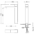 Смеситель для раковины Timo Selene 3061/03F (черный матовый)