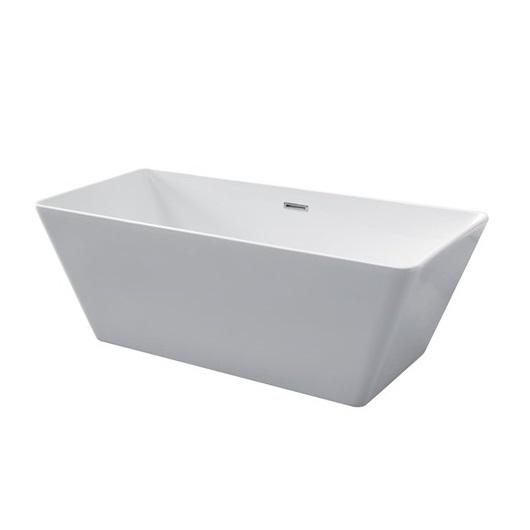 Ванна акриловая Kerasan Ego 160х70 743101 отдельностоящая