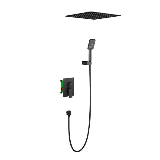 Душевая система Timo Selene SX-2029/03SM (черный матовый)