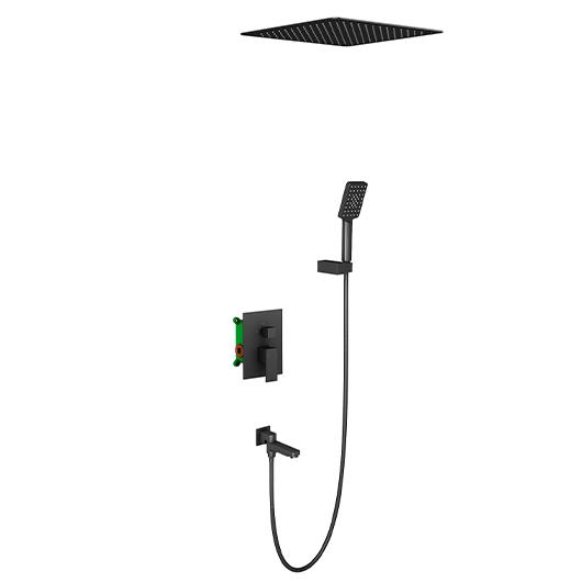 Душевая система Timo Selene SX-2039/03SM (черный матовый)