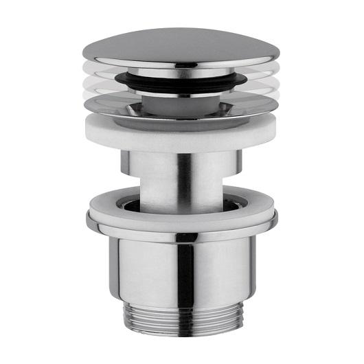 Нажимной донный клапан Noken 100100745/N299999282 (хром) для раковин с переливом