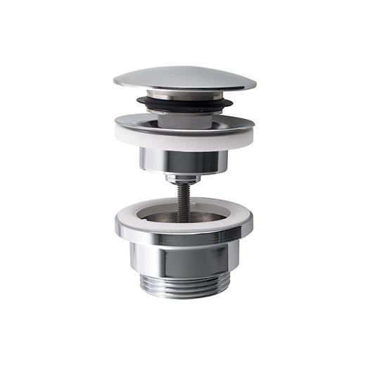 Нажимной донный клапан Noken 100213421/N199999048 (хром) универсальный