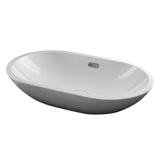 Раковина накладная Noken Forma Oval 100214320/N350798851 (595х360 мм) белая