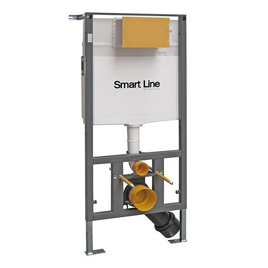 Инсталляция для подвесного унитаза Noken Smart Line 100159542/N386000050 (6/3 л)