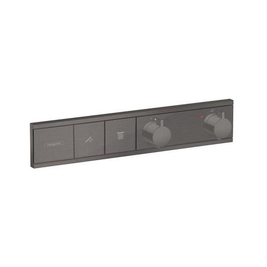 Термостат для ванны Hansgrohe RainSelect 15380340 (шлифованный черный хром)