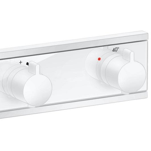 Термостат для ванны Hansgrohe RainSelect 15380700 (матовый белый)