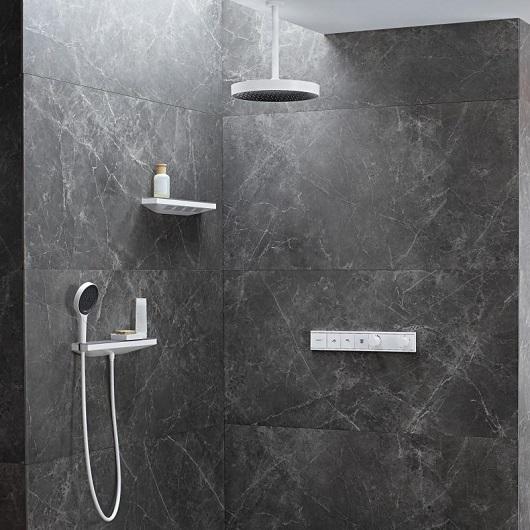 Ручной душ Hansgrohe Rainfinity 130 3jet 26864700 (матовый белый)