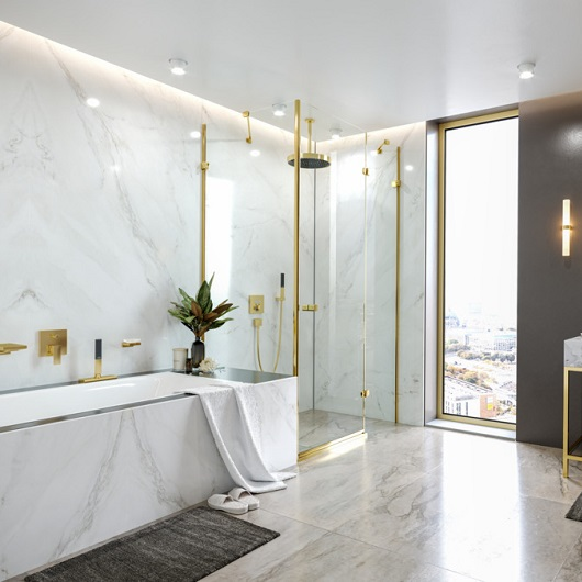 Ручной душ Hansgrohe Rainfinity 100 1jet 26866990 (полированное золото)