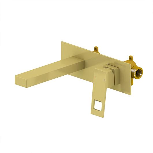 Смеситель для раковины Timo Briana 7171/17SM (золото матовое)