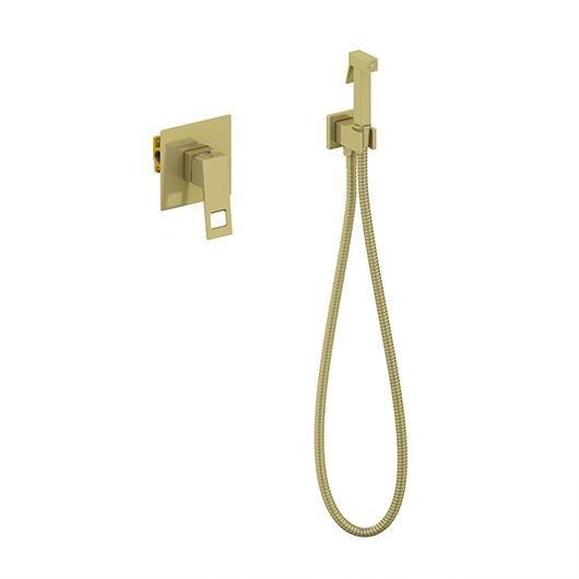Гигиенический комплект Timo Briana 7189/17SM (золото матовое)