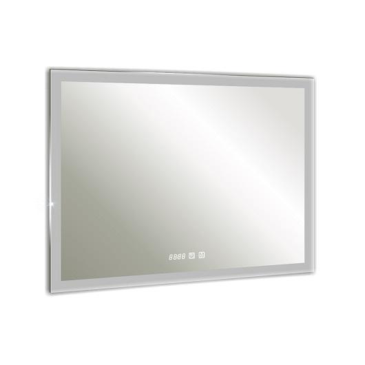 Зеркало Silver Mirrors Гуверт-3 LED-00002369 (1000х800 мм, антипар, часы)