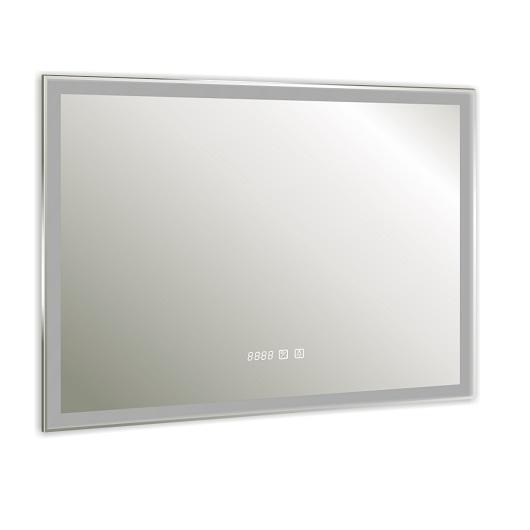 Зеркало Silver Mirrors Norma neo-3 LED-00002402 (800х600 мм, антипар, часы)