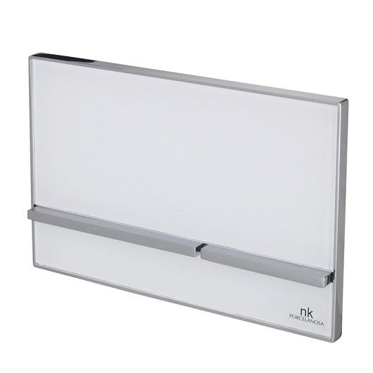 Клавиша смыва Noken Smart Line Crystal 100104499/N386000011 (белое стекло)