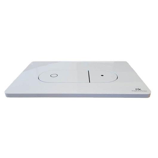 Клавиша смыва Noken Smart Line Oval 100104501/N386000001 (белая)
