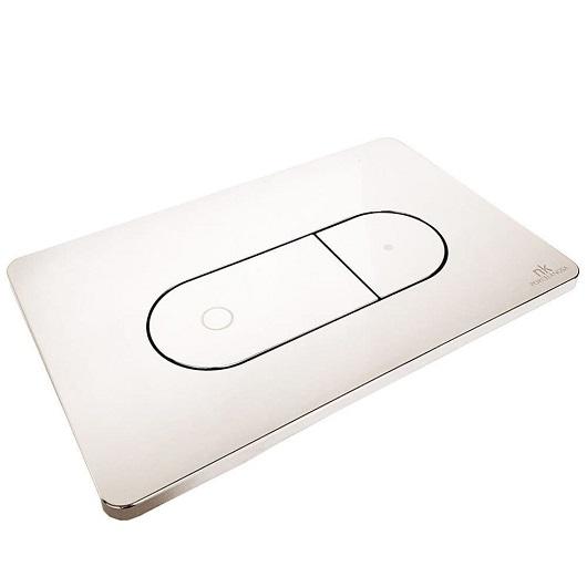 Клавиша смыва Noken Smart Line Oval 100104502/N386000003 (хром)
