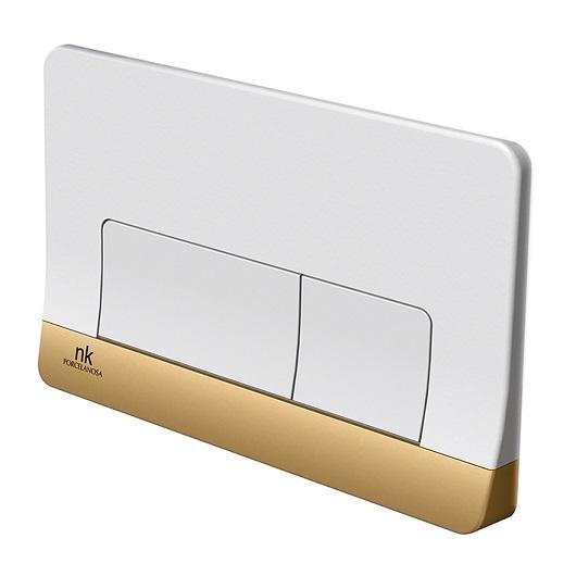 Клавиша смыва Noken Smart Line Forma 100235091/N386000081 (белая/золото)