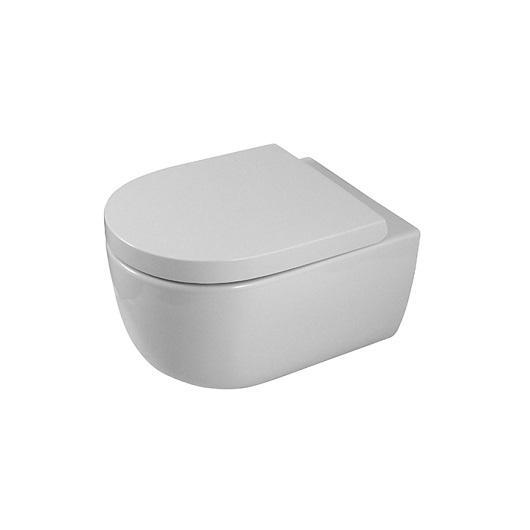 Чаша подвесного унитаза Noken Acro Compact Rimless 100251816/N390000064 безободковая, компакт