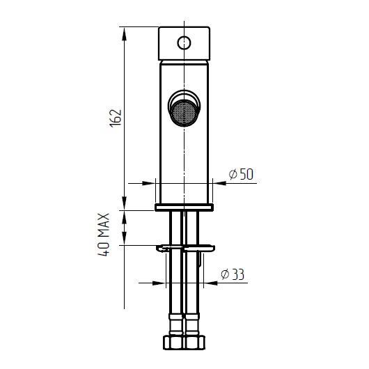 Смеситель для биде Migliore Fortis 18644 (ML.FRT-5123.CR) Хром