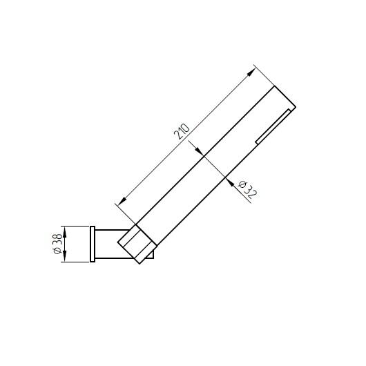 Смеситель для ванны Migliore Fortis 18648 (ML.FRT-5302.CR) (Хром)