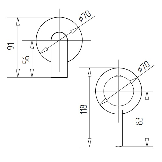 Смеситель для раковины Migliore Fortis 18667 (ML.FRT-5245.CR) Хром