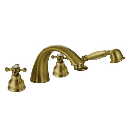 Смеситель для ванны Migliore Lady 18812 (ML.LAD-981.BR) Бронза